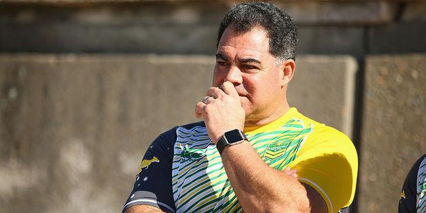 Kangaroos coach Mal Meninga. Photo / Getty