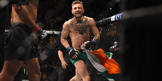 Conor McGregor. Photo / Getty