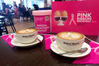 Robert Harris Cafés think pink for May. Photo/supplied