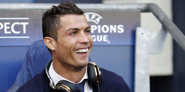 Cristiano Ronaldo. Photo / Getty