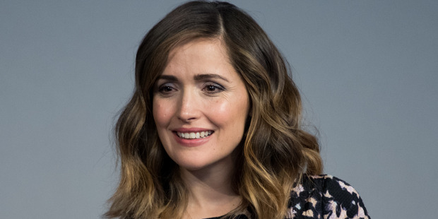 Despite looking glam in front of the camera, actress Rose Byrne says she is struggling with her latest role as a new mum. Photo / Getty