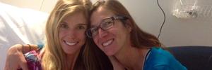 Rachel Lloyd and her mother Carolyn Lloyd. Photo / Supplied
