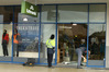 A ram-raid was carried out on a Kathmandu stofe in Fraser Cove Shopping Centre. Photo/John Borren