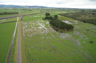 Paddocks within the Lower Kaituna Wildlife Management Reserve that would be retired as part of the proposed 80 hectare wetland restoration project.