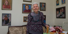 Madeline Anderson, who turns 109 tomorrow, at her Upper Hutt home. Photo / Mark Mitchell