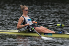New Zealand Rowing Women's Single Scull, Emma Twigg. Photo / Brett Phibbs