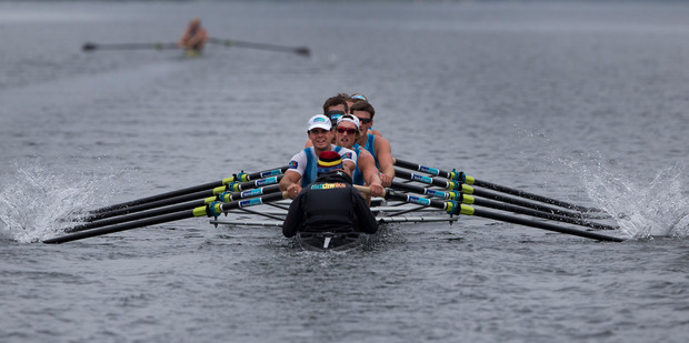 Loading The men's eight are among the 14 crews New Zealand aim to send to Rio in August. Photo / Brett Phibbs