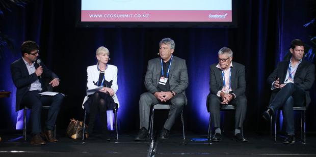 Panel chairman Liam Dann. Photo / Doug Sherring