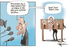 Ken Whitney's letter to the IRD was sloppily written - so say both parties. Illustration / Rod Emmerson