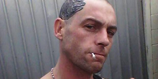 Mitchell Moulton, jailed today for firing a gun outside a Christchurch Winz office. Photo / Supplied