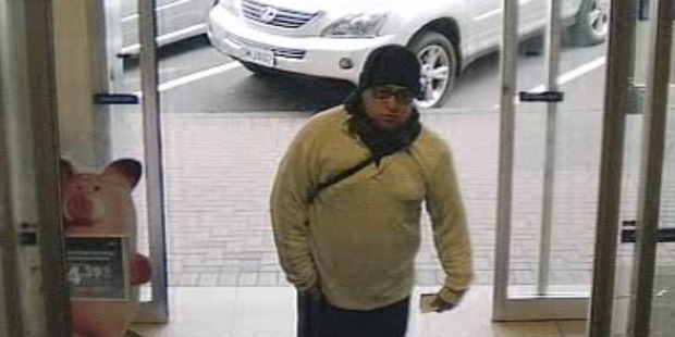 Wellington Police are continuing their investigation into an aggravated robbery which took place at a BNZ bank in  Petone at about 12pm yesterday. Photo / NZ Police