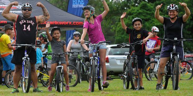 The mountain bike beginners' race at this year's Rotorua Bike Festival. PHOTO: ALLAN URE/PHOTOS4SALE