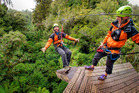 Guiding 1000 eco tours grants staff at Rotorua Canopy Tours entry into a special club. Photo/Supplied