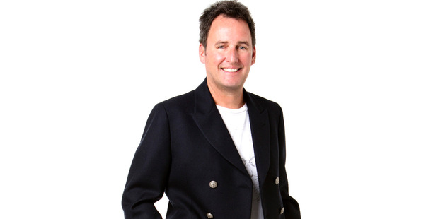 Newstalk ZB radio host Mike Hosking.
