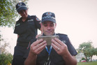 Northern Territory Polcie posted a tongue-in-cheek video as a response to the Running Man challenge from Auckland Police earlier this week.