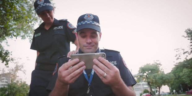 Loading Northern Territory Polcie posted a tongue-in-cheek video as a response to the Running Man challenge from Auckland Police earlier this week.