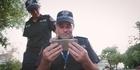 Watch: Watch: Aussie cops feel left out of 'Running Man' challenge