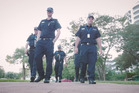 Northern Territory Polcie posted a tongue-in-cheek video to Facebook as a response to the Running Man challenge from Auckland Police earlier this week.