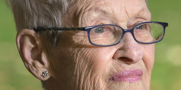 Nancy Keat, the oldest University of Auckland student to graduate at the autumn session. Photo / Supplied