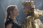 Jessica Chastain and Charlize Theron in a modern twist on a classic fairytale.