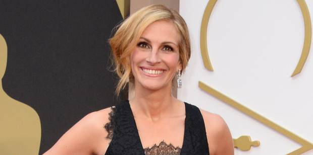 Julia Roberts was previously paid a record $20 million for her Oscar winning role in Erin Brockovich. Photo / AP