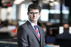 Liam Dann, New Zealand Herald business journalist. Photo / Michael Craig.