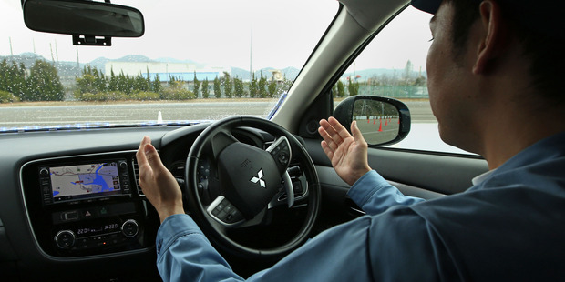 New Zealand could be good testing-ground for driverless cars. Photo / Bloomberg