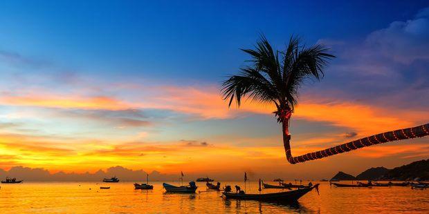 On the beach, Koh Tao, Thailand. Photo / 123RF