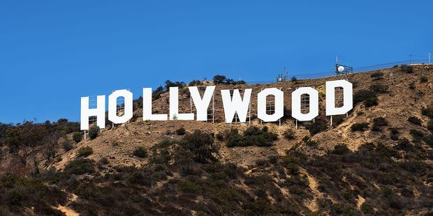 The Hollywood sign in California. Photo / Wikimedia Commons