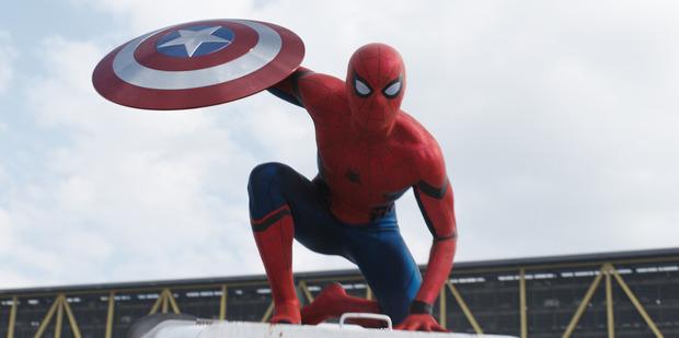 Marvel's Captain America: Civil War features Spider Man/Peter Parker