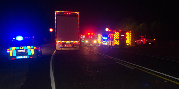 An American tourist has admitted causing the deaths of two Northland women in this crash near Kerikeri on Saturday. Photo / Ian Kieller