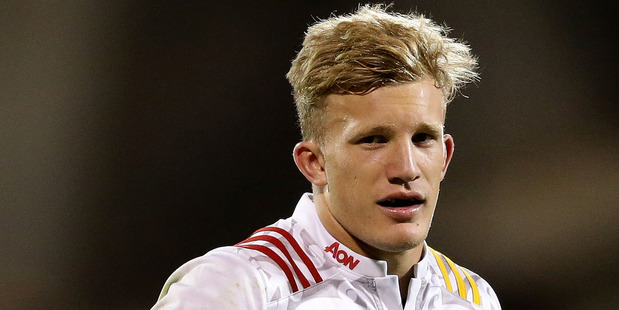 Damian McKenzie of the Chiefs looks on during the round six Super Rugby match. Photo / Getty Images