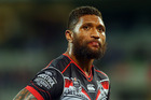 Manu Vatuvei is a fan favourite at the Warriors. Photo / Getty
