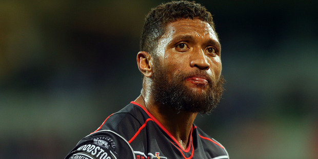 The decision to bar Manu Vatuvei from being available for the Kiwis is a big call that will be debated endlessly today. Photo / Getty Images