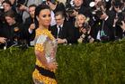 Demi Lovato. Photo / AP