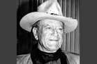 A move by Californian lawmakers to honour film star John Wayne has collapsed in a row over decades-old racist comments. Photo / AP