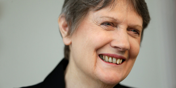 Helen Clark is in the running to become the first female UN secretary general. Photo / AP