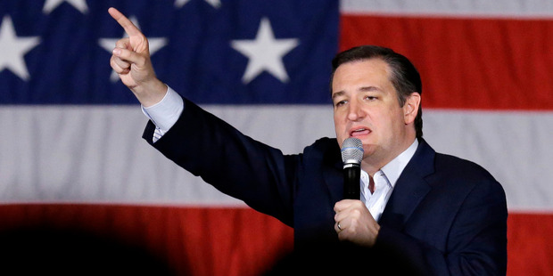 Ted Cruz dropped out of the race earlier this week. Photo / AP