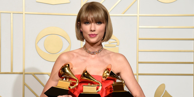 Taylor Swift has topped Billboard's list of the highest paid musicians. Photo / AP