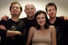 Kiwi band Fur Patrol: Andrew Bain, Simon Braxton, Julia Deans, and Steve Wells. Photo / David White
