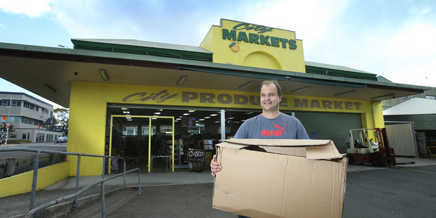 Mark Pepers, the owner of Sunnys Variety Stores in the Western Bay is opening a new branch in the Tauranga downtown building in Willow St that formerly housed City Markets.