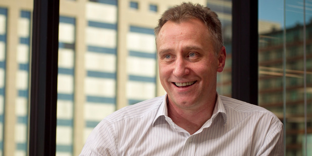 MediaWorks CEO Mark Weldon. Photo / Natalie Slade