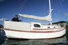 Chris Watson, father of convicted murder Scott Watson, onboard Scott's boat Blade in Picton Harbour. Photo / Tim Cuff