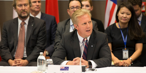 New Zealand Minister of Trade Todd McClay welcomed the tribunal's report. Photo / Nick Reed