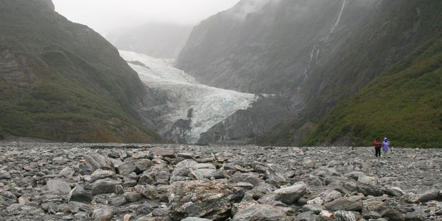 The tourist became lost after he abandoned his companions while on a walk near Franz Josef Glacier. Photo / Jim Eagles