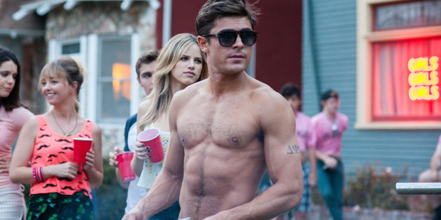 Zac Efron in Bad Neighbours.