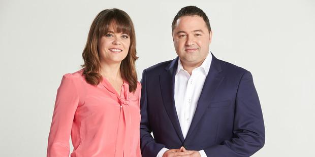 Heather du Plessis-Allen and Duncan Garner.