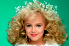 JonBenet Ramsey during a beauty pageant.