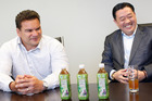 Former All Black Michael Jones and Jack Chen planned to sell noni juice in China. Photo / Richard Robinson