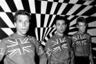 New Zealand rock group, The Swingers.